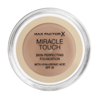 Max Factor - MIRACLE TOUCH - Skin Perfecting Foundation - Kremowy podkład do twarzy - 075 - GOLDEN - 075 - GOLDEN