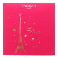 Bourjois - PARIS MON AMOUR - Gift set with face makeup cosmetics - Mascara + Blush