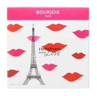 Bourjois - FROM PARIS WITH LOVE - Zestaw prezentowy z kosmetykami do makijażu twarzy - Tusz + Pomadka