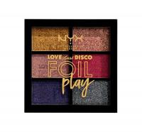 NYX Professional Makeup - LOVE LUST DISCO - FOIL PLAY PIGMENT PALETTE - Paleta 6 pigmentów - 02 DO THE HUSTLE