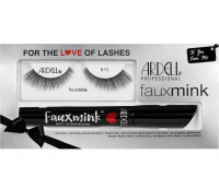 ARDELL - FAUX MINK - FOR THE LOVE OF LASHES KIT - Gift set: False eyelashes 811 + Mascara
