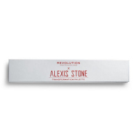 MAKEUP REVOLUTION - ALEXIS STONE TRANSFORMATION PALETTE - Palette of 7 glossy eye shadows
