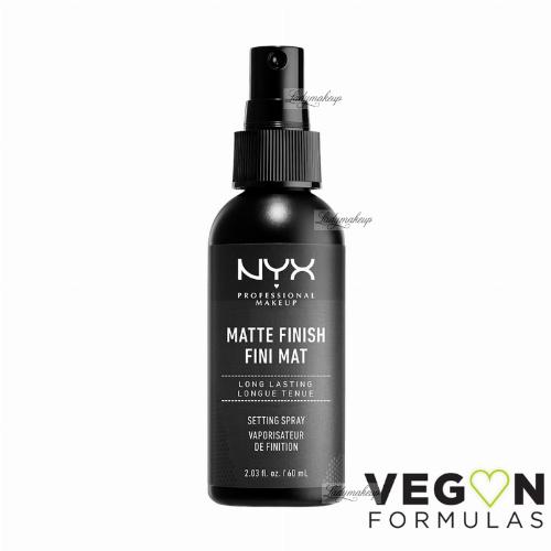 NYX Professional Makeup - MATTE FINISH FINI MAT - Utrwalający Spray matujący do makijażu