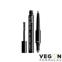 NYX Professional Makeup - SOURCILS 3IN1 BROW - 3in1 eyebrow makeup