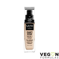 NYX Professional Makeup - CAN'T STOP WON'T STOP - FULL COVERAGE FOUNDATION - Podkład do twarzy