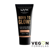 NYX Professional Makeup - BORN TO GLOW - NATURALLY RADIANT FOUNDATION