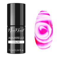 NeoNail - Aquarelle Color - Lakier Hybrydowy - 6 ml i 7,2 ml - 5507-7 - Raspberry Aquarelle - 5507-7 - Raspberry Aquarelle