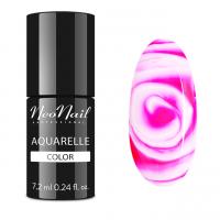 NeoNail - Aquarelle Color - Hybrid Varnish - 6 ml - 5507-7 - Raspberry Aquarelle - 5507-7 - Raspberry Aquarelle