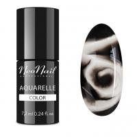 NeoNail - Aquarelle Color - Hybrid Varnish - 6 ml - 5757-1 - Sephia Aquarelle  - 5757-7 - Sephia Aquarelle