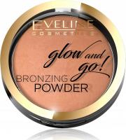 Eveline Cosmetics - Glow and Go! Bronzing Powder - Baked bronzer