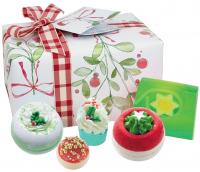 Bomb Cosmetics - Gift Pack - Christmas Wishes - Zestaw prezentowy kosmetyków do kąpieli i pielęgnacji - ŚWIĄTECZNE ŻYCZENIA