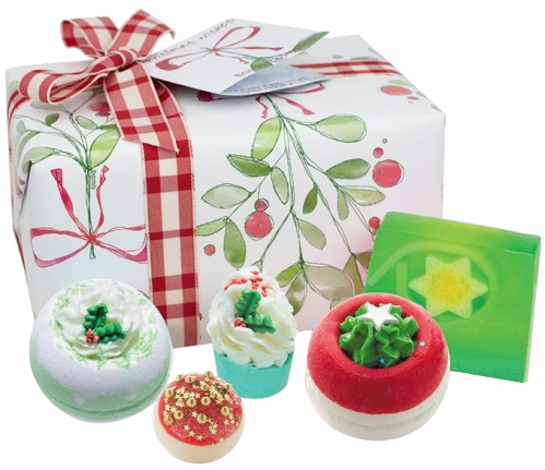 Bomb Cosmetics - Gift Pack - Christmas Wishes - Gift set for bath and care cosmetics - CHRISTMAS WISHES
