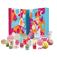 Bomb Cosmetics - Tinsel My Fancy - 24 Day Bath & Beauty Advent Calendar- Kalendarz adwentowy do kąpieli i pielęgnacji