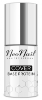 NeoNail - COVER Base Protein - Protein colored nail base - 7.2 ml