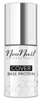 NeoNail - COVER Base Protein - Proteinowa, koloryzująca baza do paznokci - 7,2 ml