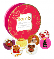 Bomb Cosmetics - Merry Chic-mas - Gift Pack - Gift set with natural bath cosmetics