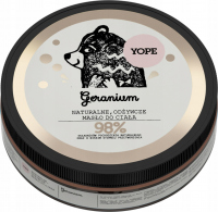 YOPE - NATURAL NUTRITIONAL BODY BUTTER - Geranium - 200 ml