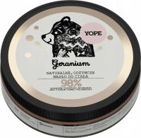 YOPE - NATURAL NUTRITIONAL BODY BUTTER - Geranium - 200 ml