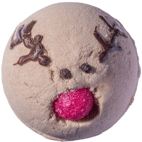 Bomb Cosmetics - Run Rudolph Run - Bath Blaster - Bubbling bath ball - RUDOLPH