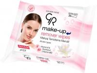 Golden Rose - Make Up Remover Wipes - Chusteczki do demakijażu oczu i twarzy - Extra Soft