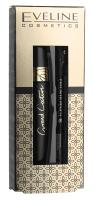 EVELINE - Cosmetics Gift Set - Zestaw prezentowy kosmetyków do makijażu oczu - Grand Couture Spectacular Lashes Mascara + Eyeliner Pencil