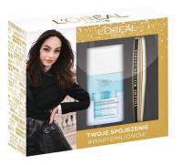 L'Oréal - Zestaw prezentowy - Tusz Volume Million Lashes + Dwufazowy płyn do demakijażu
