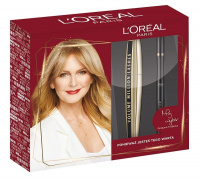 L'Oréal - Zestaw prezentowy - Tusz Volume Million Lashes + Eyeliner Supe Liner Perfect Slim