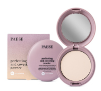 PAESE - Nanorevit - Perfecting and Covering Powder - Matujący puder do twarzy