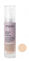 PAESE - Nanorevit - Natural Finish Longwear - Everyday Foundation - Podkład do twarzy  - 03 SAND - 03 SAND