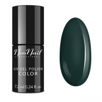 NeoNail - UV GEL POLISH COLOR - GRUNGE - Lakier hybrydowy - 6 ml i 7,2 ml - 3780-7 - LADY GREEN - 3780-7 - LADY GREEN