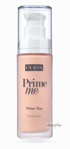 PUPA - Prime Me - Corrective Face Primer - Corrective make-up base - 30 ml