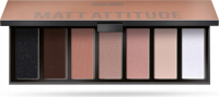 PUPA - MAKEUP STORIES PALETTE - 7 eyeshadows - 003 MATT ATTITUDE