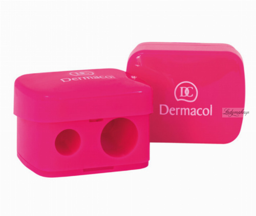 Dermacol - COSMETIC SHARPENER - Podwójna temperówka do kredek
