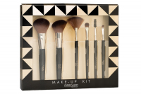 Inter-Vion - MAKE-UP KIT - Set of 6 make-up brushes - CLASSIC