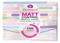 Dermacol - MATT CONTROL BLOTTING PAPERS - Matting paper - 100 pcs.