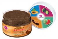 Dermacol - AROMA RITUAL - HARMONIZING BODY SCRUB - BELGIAN CHOCOLATE - Body scrub with a Belgian chocolate scent
