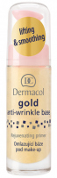 Dermacol - Gold Anti-Wrinkle Base - Gold, rejuvenating make-up base - 20 ml