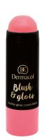 Dermacol - Blush & Glow Creamy Stick - Cream blush face - 3430 - 3430