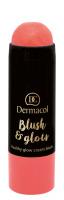 Dermacol - Blush & Glow Creamy Stick - Cream blush face - 3431 - 3431