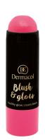 Dermacol - Blush & Glow Creamy Stick - Cream blush face - 3432 - 3432