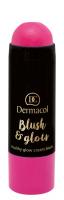 Dermacol - Blush & Glow Creamy Stick - Cream blush face - 3434 - 3434