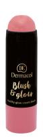 Dermacol - Blush & Glow Creamy Stick - Cream blush face - 3435 - 3435