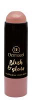 Dermacol - Blush & Glow Creamy Stick - Cream blush face - 3436 - 3436