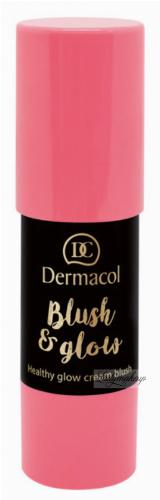 Dermacol - Blush & Glow Creamy Stick - Cream blush face
