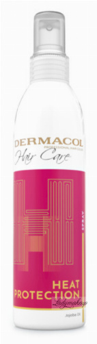 Dermacol - HAIR CARE - HEAT PROTECTION SPRAY - Termoochronny spray do włosów - 200 ml