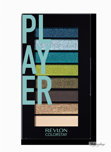 Revlon - LOOKS BOOK PALETTE - Mini paleta cieni do powiek - 910 PLAYER