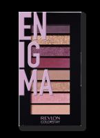 Revlon - LOOKS BOOK PALETTE - Mini paleta cieni do powiek - 920 ENIGMA