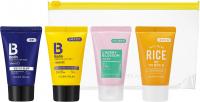 Holika Holika - BIOTIN - TRAVEL KIT - Zestaw podróżny 4 mini kosmetyków do pielęgnacji włosów i ciała - 4 x 30 ml