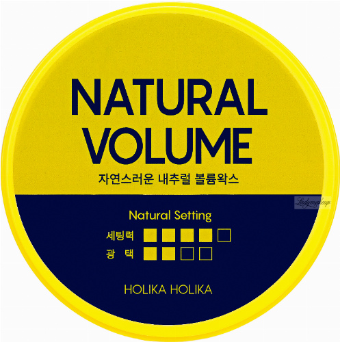 Holika Holika - BIOTIN - STYLE CARE NATURAL VOLUME MAX - Hair styling wax - 80 g