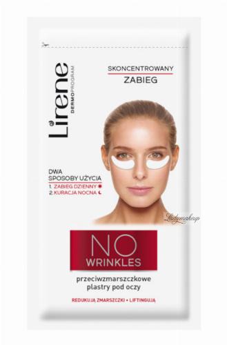 Lirene - NO WRINKLES - Przeciwzmarszczkowe plastry pod oczy